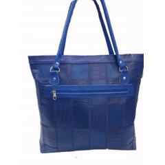 Bolsa de couro legítimo grande sacola