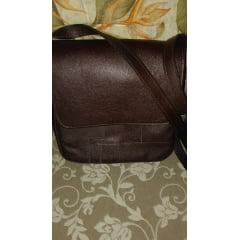 Bolsa de couro legítimo tipo carteiro