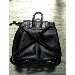 bolsa de couro legítimo mochila feminina